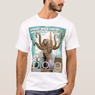 BLUR LIKE A SOTONG - A SINGAPORE SLANG T-Shirt