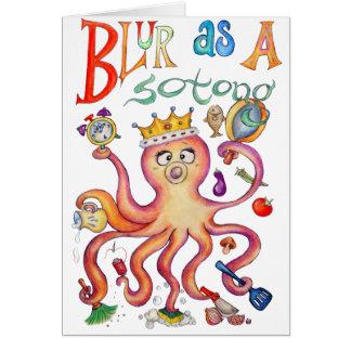 Blur Queen Card