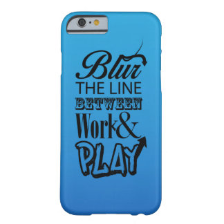 Blur the line... barely there iPhone 6 case