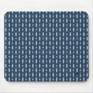 Blurple Beaded Curtain Design Mouse Pad