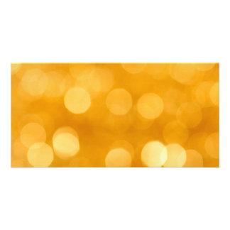 BLURRED BOTEK GOLDEN YELLOW CIRCLES PATTERN DIGITA CARD