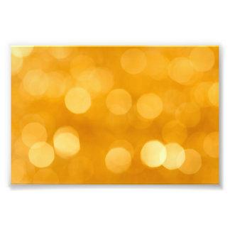 BLURRED BOTEK GOLDEN YELLOW CIRCLES PATTERN DIGITA PHOTO ART