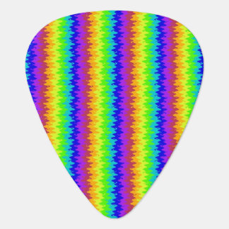 Blurred Bright Rickrack Guitar Pick