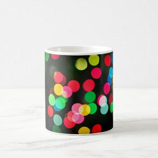 Blurred Christmas lights (horizontal) Mugs