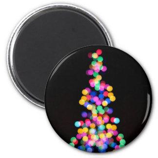 Blurred Christmas Lights Magnet
