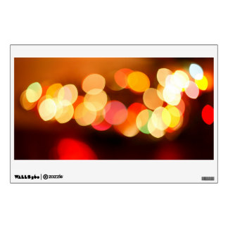 Blurred Christmas tree Wall Decals