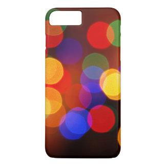 Blurred circle lighting iPhone 7 plus case