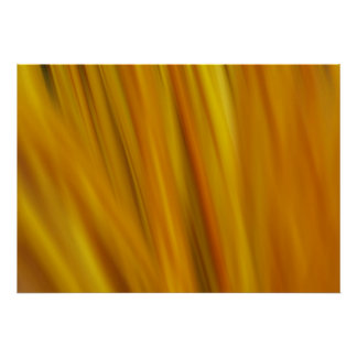 Blurred Decorative Sticks Poster