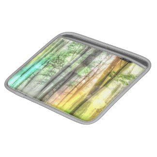 Blurred forest sleeves for iPads