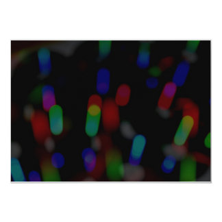 Blurred Lights Card