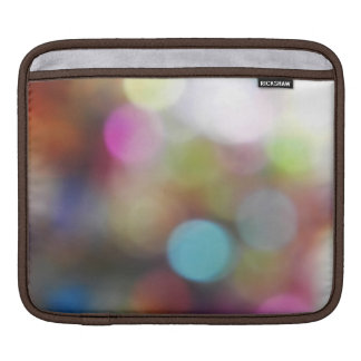 Blurred lights iPad sleeve. Sleeve For iPads