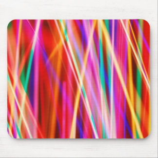 blurred lights mouse pad
