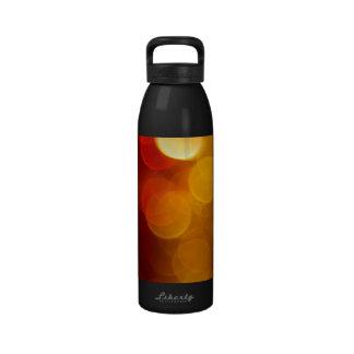 Blurred Lights Reusable Water Bottles