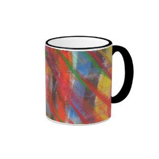 Blurred Lines Coffee Mugs