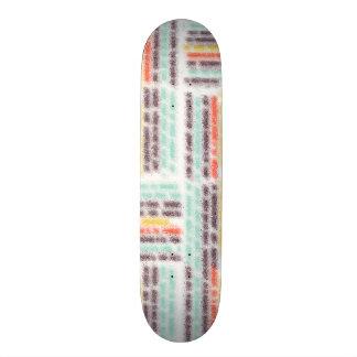 Blurred lines skateboard