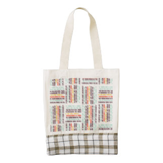 Blurred lines zazzle HEART tote bag