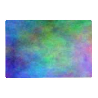 Blurred Rainbow Placemat