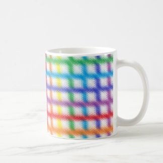 Blurred Rainbow Weave Mug