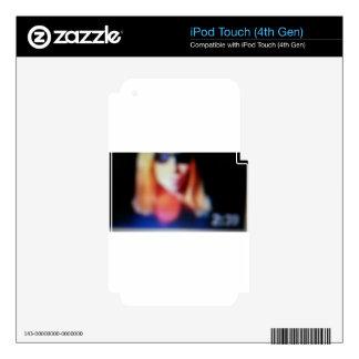 Blurred Susie iPod Touch 4G Skin