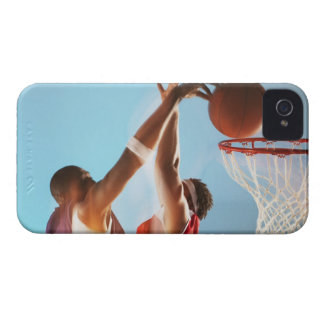 Blurred view of basketball player dunking iPhone 4 cover