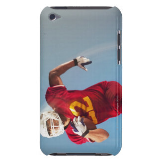Blurred view of football player running with iPod touch Case-Mate case
