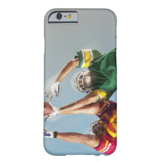 Blurred view of football players reaching for barely there iPhone 6 case