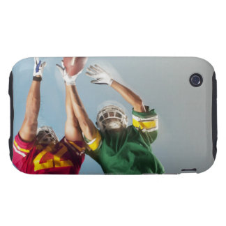 Blurred view of football players reaching for tough iPhone 3 cases