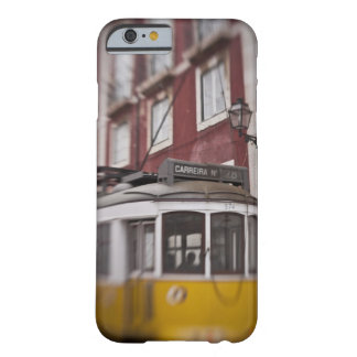 Blurred view of streetcar on city street barely there iPhone 6 case