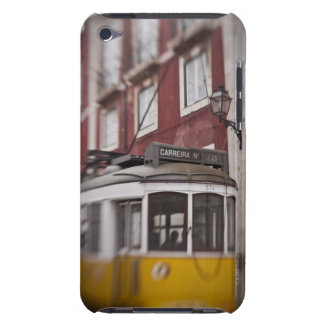 Blurred view of streetcar on city street iPod touch Case-Mate case