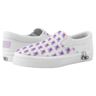 Blurred X Hypnotic Slip On Shoe Printed Shoes