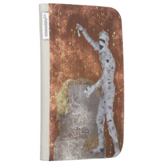blurred zombie kindle case