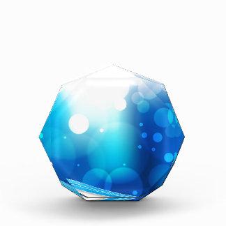 Blurry Blue Light Background Award