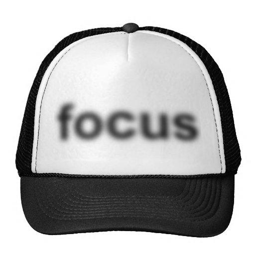 Blurry focus - Hat