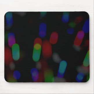 Blurry Lights Mouse Pad