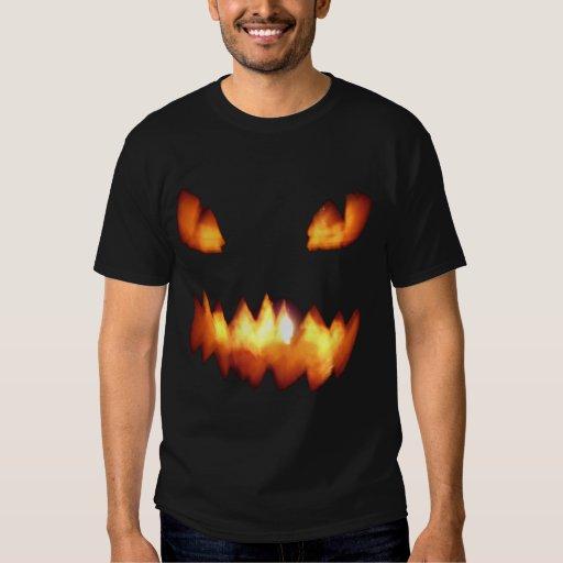 Blurry Pumpkin face shirt