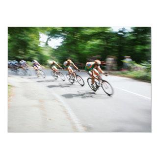 Blurry Racing Bikers Card