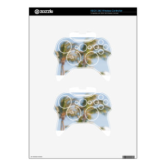 Blurry tree with blue sky xbox 360 controller skins