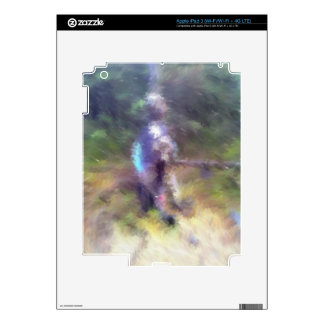 blurry troll photo skin for iPad 3