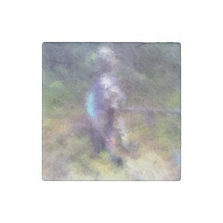 blurry troll photo stone magnet