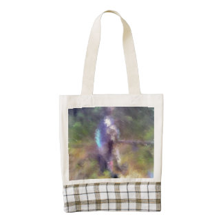 blurry troll photo zazzle HEART tote bag
