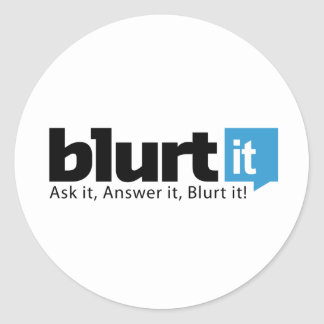 Blurtit Stickers