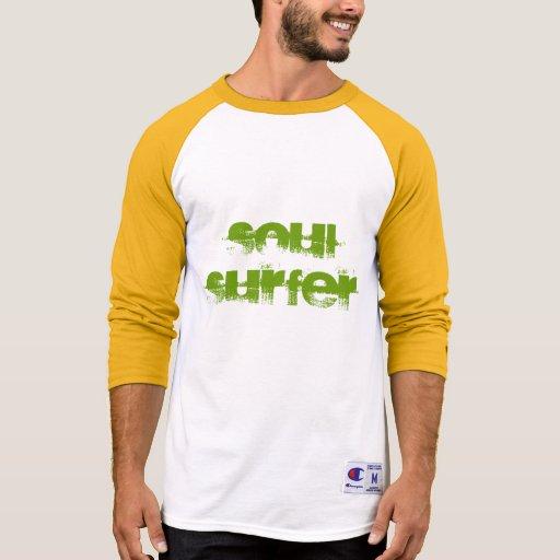 Blusa de manga larga amarilla y blanca de la perso remeras