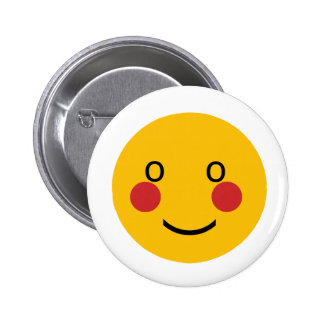 Blush 2 Inch Round Button