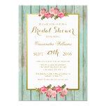 Blush and Mint - Bridal Shower Floral Invitation