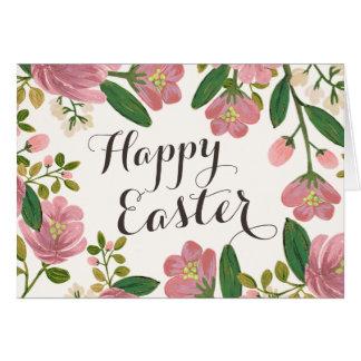 Blush Bouquet Easter Card