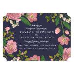Blush Bouquet Engagement Party Card