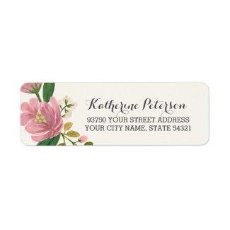 Blush Bouquet Label