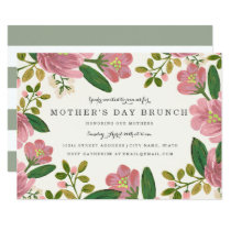 Blush Bouquet Mother's Day Brunch Invitation