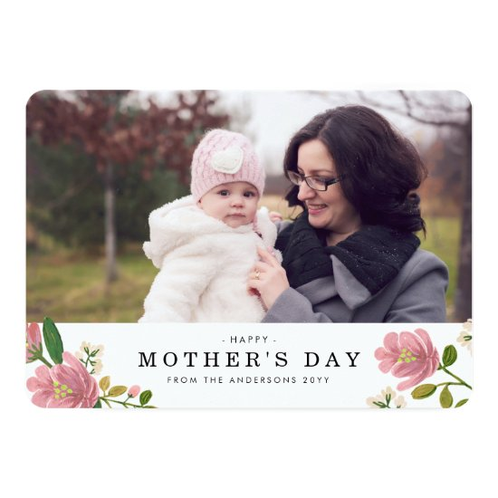 Blush Bouquet Mother's Day Card