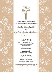 Bible Wedding Invitations